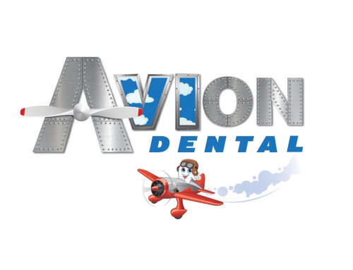 Avion Dental Logo Design