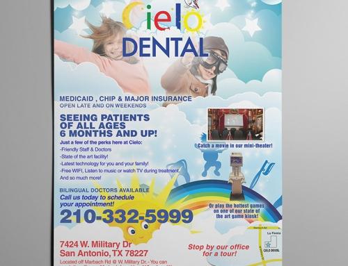 Cielo Dental Office Flier