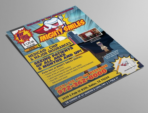 Mighty Smiles Office Flier