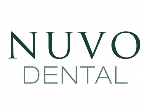NUVO Dental Logo Design