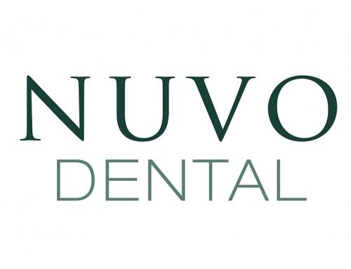 NUVO Dental Logo Design
