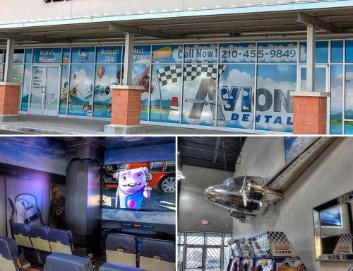 Avion Dental Window & Lobby Design